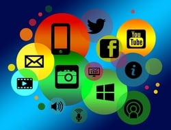 Digital Media and Apps Graphic