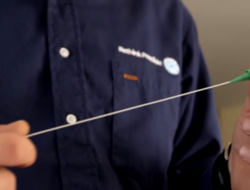 Length of fiber thread used to install AT&T GigaPower in MDUs - screencap