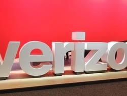 Verizon sign from MWCA