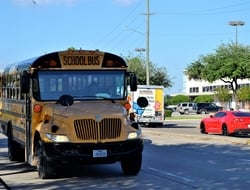 Houston school bus