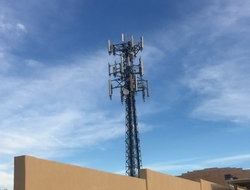 Cell phone tower macro site (Mike Dano / FierceWireless)