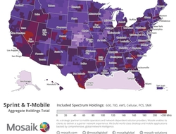 Combined Sprint and T-Mobile spectrum map (Mosaik)
