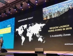 AWS HK MD Alex Yung announces to open an infrastructure region in HK in 2018
