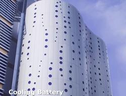 Cooling battery of NTT Com FDC2 (source: NTT Com)
