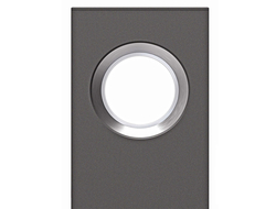 An illuminating column, PORTAL has an extruded housing in 8' or 10' heights.