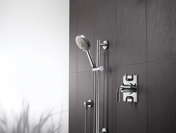 StyleTherm TH52D2 is a two-outlet valve that allows for installation of multiple showering devices.