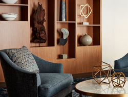 New York Hilton's suites revealed with interior design and architecture by Stonehill Taylor.