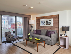 Warwick Denver completes full renovation inspired by property's Playboy connection.