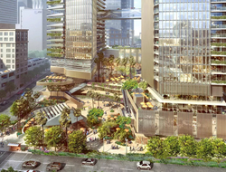Handel Architects spearheads design of $1.2B mixed-use Angels Landing in LA.