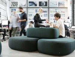 Kilo Design launched Kilo Islands, a collection of modular benches that combine for a variety of collaborative configurations.