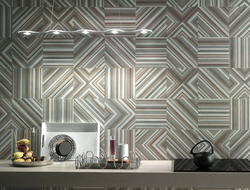 Studio is a ceramic wall tile with a colorful yet soft appearance.