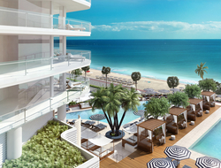 Five firms combine to design first Four Seasons in Fort Lauderdale.
