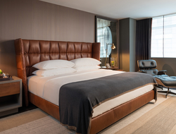 For the renovation, Brookfield Hotel Properties worked with interior design firm Hirsch Bedner Associates (HBA) and Boston-based branding firm Korn Design.