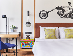 How street art influenced Studio HBA's design of Hyatt Centric brand's first property in India.
