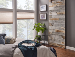 The panels on the Barn door can be ordered either vertically or horizontally.