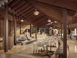 How the Chinese three-sided courtyard style home inspired Kengo Kuma's design for first Hyatt Regency property in Beijing.
