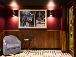 How London's theater history inspired Michaelis Boyd's design for new Hotel Indigo.