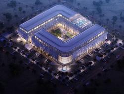 A rendering of the AVANI Muscat Hotel