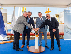 Regent Seven Seas Splendor Keel Laying Ceremony
