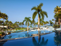 Though revenues were down due to a lag in contributions from Hyatt's owned and leased hotels, the company's net income was up 643.6 percent over the same period last year.