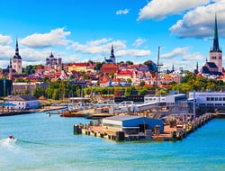 Tallinn, Estonia - scanrail/iStock/Getty Images Plus/Getty Images