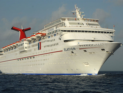 Exterior of Carnival Elation