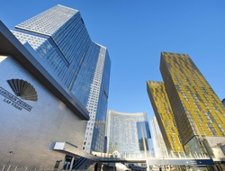 The termination is consequent to the sale of the hotel by CityCenter Holdings, a joint venture between MGM Resorts and Infinity World Development Corporation.