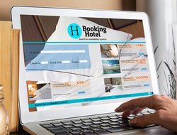 Booking a hotel online