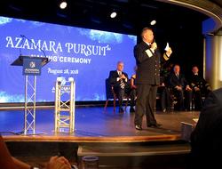 Azamara Pursuit Naming Ceremony