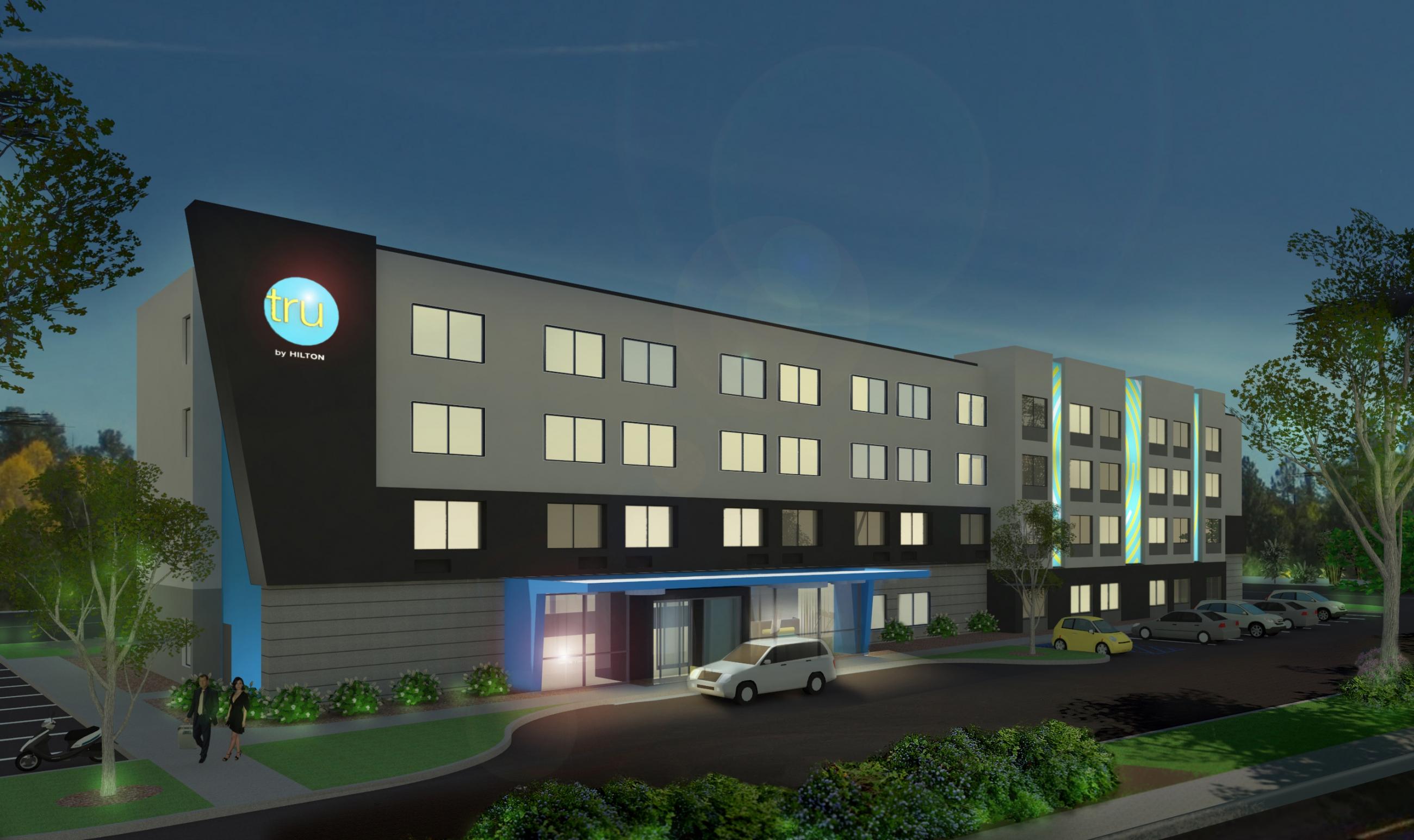 Hilton Starts Development on 10 Tru Hotels