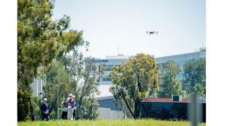 Qualcomm team drone