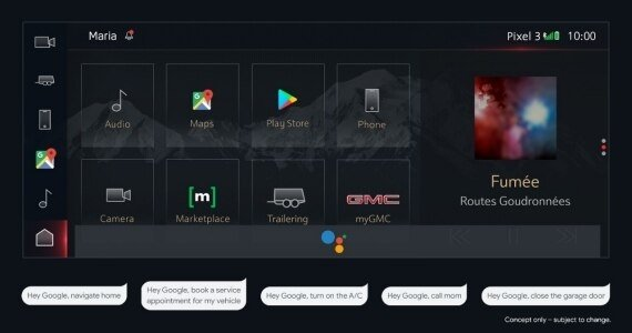 General Motors turns to Google for future vehicle infotainment