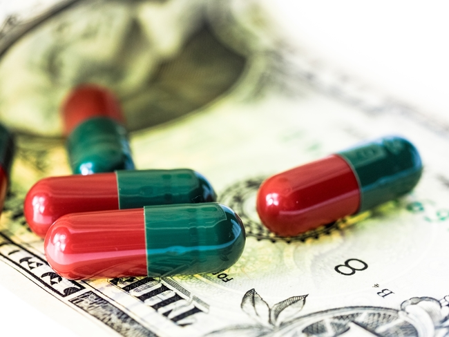 PILLS MONEY cost opioid