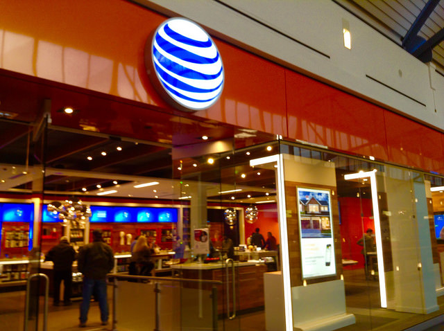 AT&T storefront