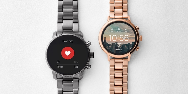 Fossil's fourth generation of smartwatches