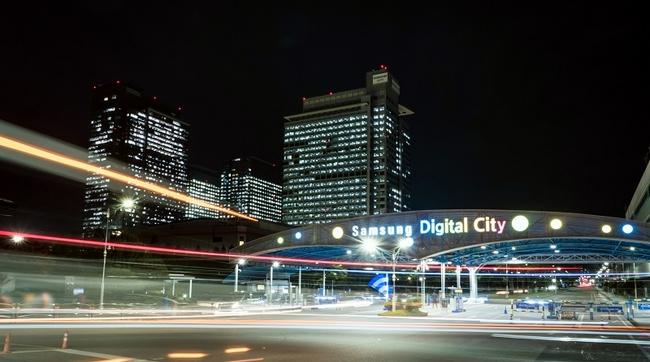 Samsung building 800