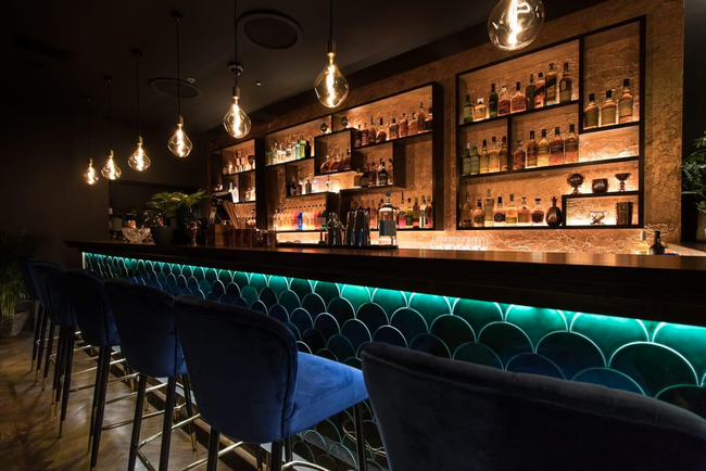 Idris Elba's The Parrot opens in The Waldorf Hilton, designed by Flavour of Pink.