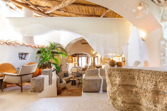 Blacksheep redesigns Quattropasi al Pescatore in Sardinia's Hotel Cervo.