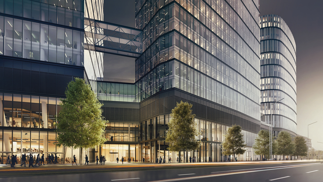 IHG and Ghelamco will develop their first dual-branded hotel complex in Poland with the 430-guestroom Crowne Plaza and Holiday Inn Express Warsaw Hub.