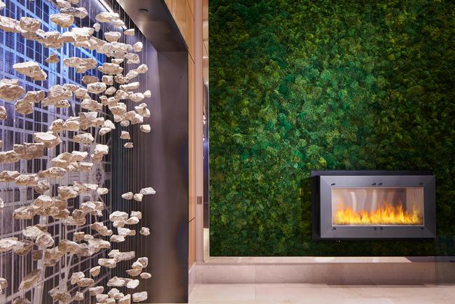 Simeone Deary Design Group renovates Loews Chicago O'Hare Hotel.