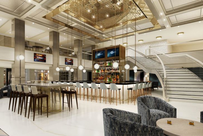 Chicago Marriott Downtown Magnificent Mile's Reviver bar eyes April opening.