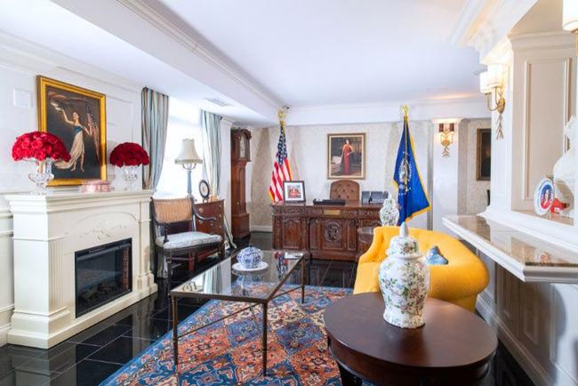 Terri Jannes Interiors designs 'Veep' suite of Hamilton Hotel Washington, D.C.