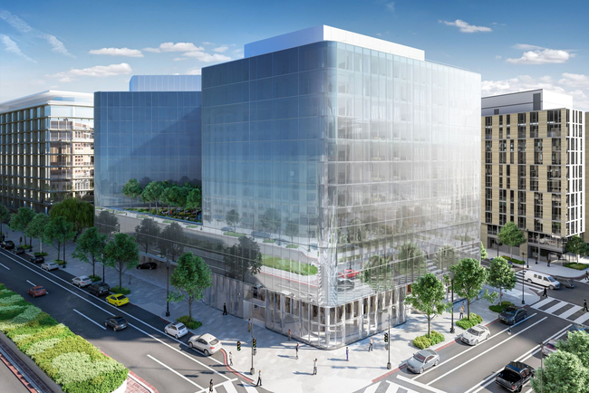 Herzog & de Meuron, HKS Inc., Rottet Studio combine for first Conrad property in Washington, DC.