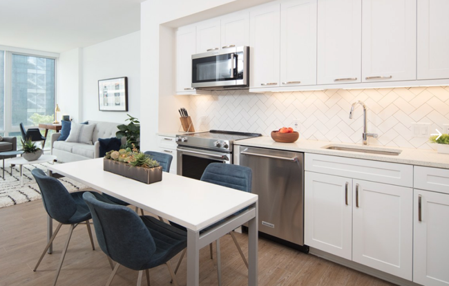 The 95-unit pop-up hotel will be located at Equity Residential's newly completed luxury rental property, 100 K Street NE, and is located in Washington, D.C.'s NoMa district.