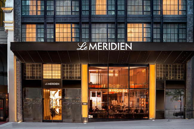 Le Méridien opens first New York property.