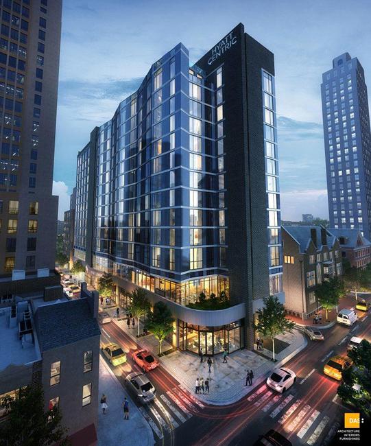 First Hyatt Centric hotel tops out in Philadelphia.