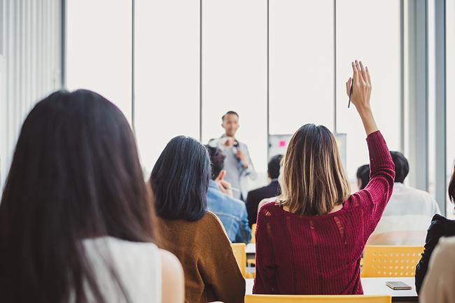 business training classroom