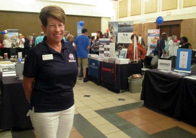 Mary Beth Casey owner Expedia CruiseShipCenter Weston FL South Florida Travel Expo Photo by Susan J. Young Editorial Use Only