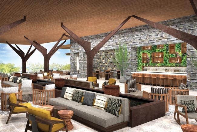 hotel rendering