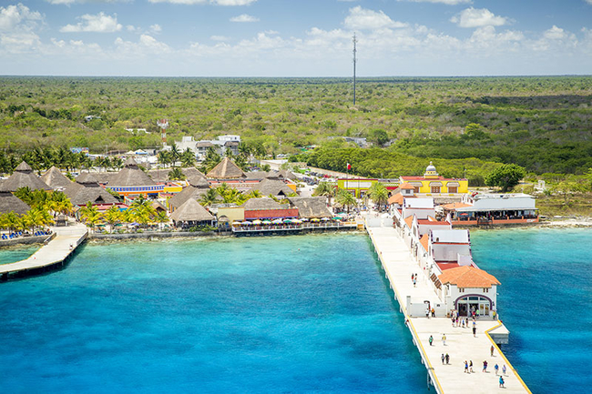 Port in Puerta Maya - Cozumel, Mexico